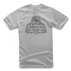 T-Shirt Alpinestars SNAP TEE Argento