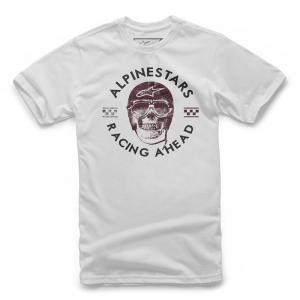 T-Shirt Alpinestars PILOT TEE Bianco