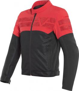 Giacca moto estiva Dainese AIR-TRACK Nero Rosso