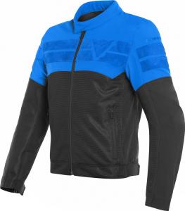 Giacca moto estiva Dainese AIR-TRACK Nero Blu chiaro