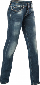 Jeans moto donna Acerbis PACK LADY Blu