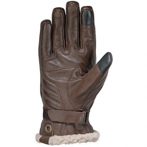 Guanti moto pelle invernali Ixon Pro Custom Marrone