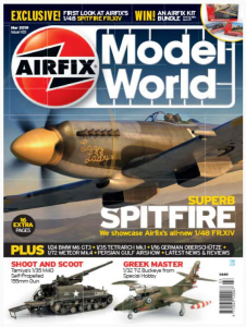 AIRFIX MODEL WORLD SUPERB SPITFIRE