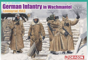 German Infantry In Wachtmantel