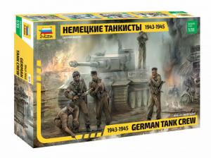 GERMAN TANK CREW 1943-45