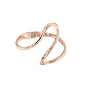 Bracciale Cuff in oro rosa