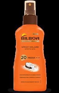 BILBOA - COCONUT BEAUTY SPRAY SOLARE NO GAS SPF 20