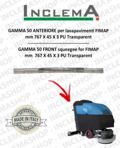 GAMMA 50 goma de secado delantera para fregadora FIMAP