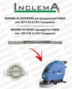 MAXIMA 50 goma de secado delantera para fregadora FIMAP