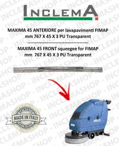 MAXIMA 45 goma de secado delantera para fregadora FIMAP