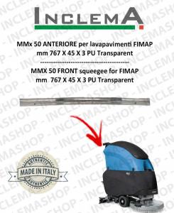 MMx 50 goma de secado delantera para fregadora FIMAP (till s/n 211012836)