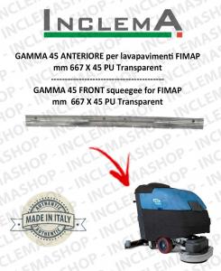 GAMMA 45 goma de secado delantera para fregadora FIMAP