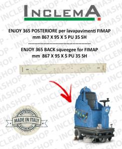 ENJOY 365 goma de secado trasero para fregadora FIMAP