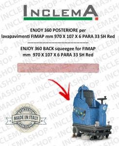 ENJOY 360 goma de secado trasero para fregadora FIMAP