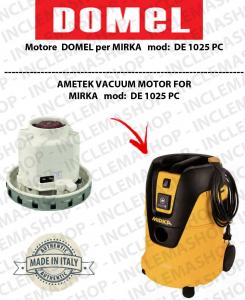 DE1025 PC motor de aspiración DOMEL para aspiradora MIRKA