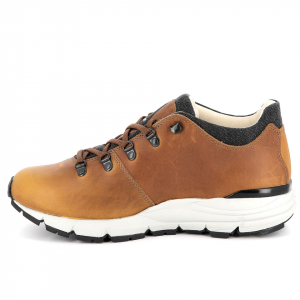 323 CORNELL LOW   -   Full Leather Walking Shoe   -   Mustard
