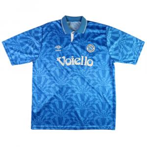 1991-93 Napoli Maglia Home XL