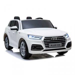Auto Macchina Elettrica Per Bambini Audi Q5 Bianca 12V