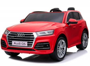 Auto Macchina Elettrica Per Bambini Audi Q5 Rossa 12V