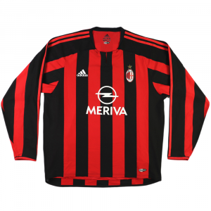 2003-04 Ac Milan Home Player Issue XL (Top)
