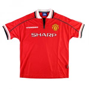 1998-00 Manchester United Maglia Home L (Top)