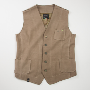 Gilet color fango Loft1