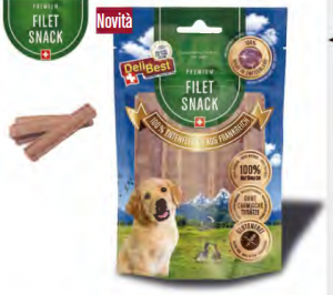 Snacks 100% di filetto di anatra francese