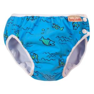 Costume contenitivo neonato bambino Turchese Fish Imse Vimse