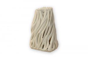 Lampada in pietra leccese - tronco di ulivo
