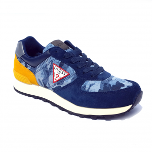 Sneaker blu/gialla o grigia/blu Guess