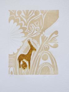HASSAN FATHI, Africa II, Xilografia - Formato cm 70x50