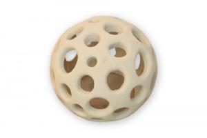 Lampada in pietra leccese lavorata a mano sfera