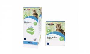 Collare barriera all'olio di Neem per gatti 35cm