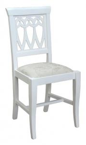 Sedia tradizionale bianca 'Top'