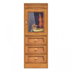 Collezione 'Compos' - Vetrinetta con 3 cassetti