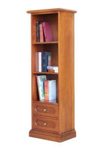 Libreria stretta con 2 cassetti