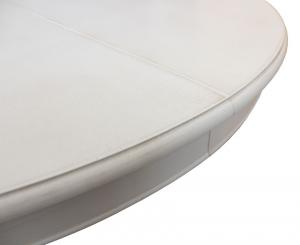 Tavolo tondo con allunghe stile Luigi Filippo 110 cm