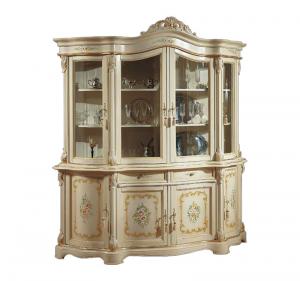 Cristalliera classica laccata e decorata