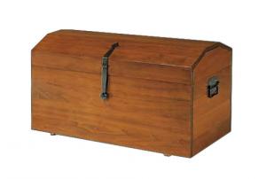 Baule classico in legno massello