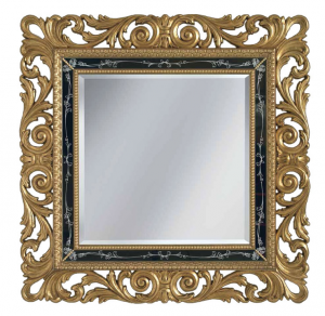 Specchio foglia oro classico