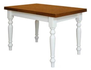 Tavolo bicolore classico 120-200 cm
