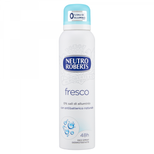 Neutro ROBERTS Deodorante spray Fresco blu 125 ml
