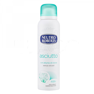 Neutro ROBERTS Deodorante spray Asciutto 125 ml