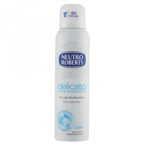 Neutro ROBERTS Deodorante spray Delicato 125 ml
