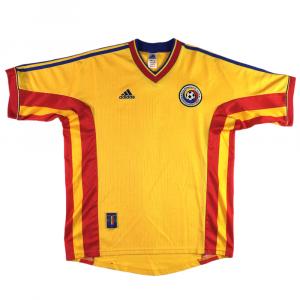 1998-00 Romania Maglia Home L