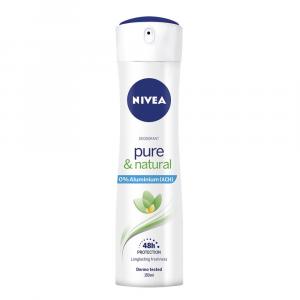 NIVEA Deodorante spray Pure & Natural 150 ml