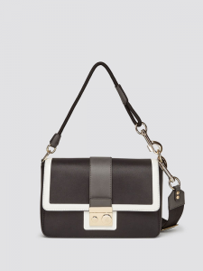 Mini bag donna Trussardi Jeans modello dreambox nero