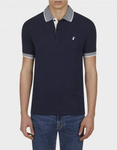 Polo uomo SAVE THE DUCK PICO8 navy blue