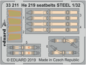 He-219 seatbelts STEEL