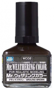 Mr. Weathering Color-Ground Brown
